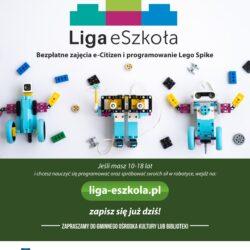 Rekrutacja – bezpłatne zajęcia ECDL i Lego Spike Prime w ramach programu Liga eSzkoła