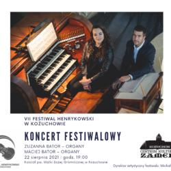 VII Festiwal Henrykowski – koncert organowy