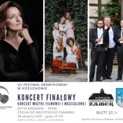 VII Festiwal Henrykowski – koncert muzyki filmowej i musicalowej