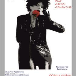 Koncert Yagi Kowalik – Scena Piosenki Francuskiej